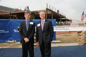 Construction of surgery center continues at Lake Forest
