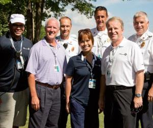 Emergency Medicine team at the BMW Championship