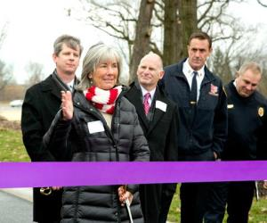 Ribbon-cutting ceremony to celebrate new access road
