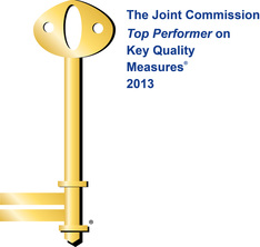 Top performer on Key Quality Measures by Joint Commission