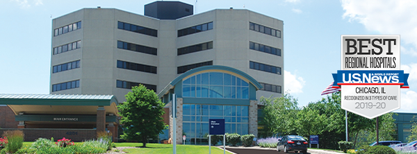 U.S. News & World Report recognized Northwestern Medicine McHenry Hospital as best regional hospital in 2019-2020.