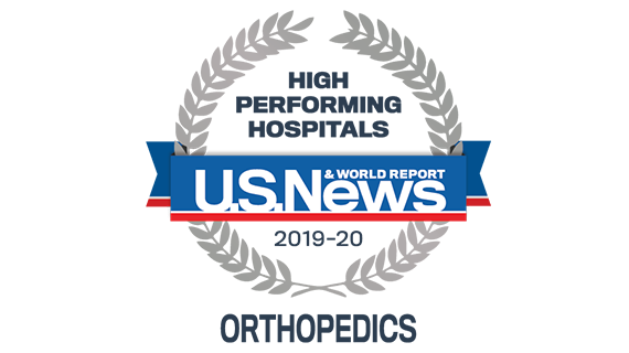 Northwestern Medicine Lake Forest Hospital recognized by U.S. News & World Report as High Performing in Orthopaedics.
