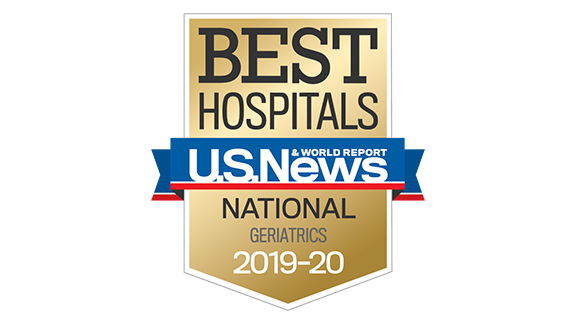 Northwestern Memorial Hospital U.S. News & World Report Best National Hospital, Geriatrics 2019-2020