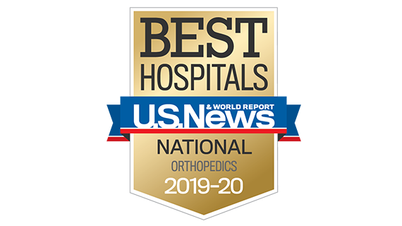 Central DuPage Hospital and Northwestern Memorial Hospital U.S. News & World Report Best Hospitals Orthopaedics 2019-2020