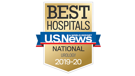 Northwestern Memorial Hospital U.S. News & World Report Best National Hospital, Urology 2019-2020