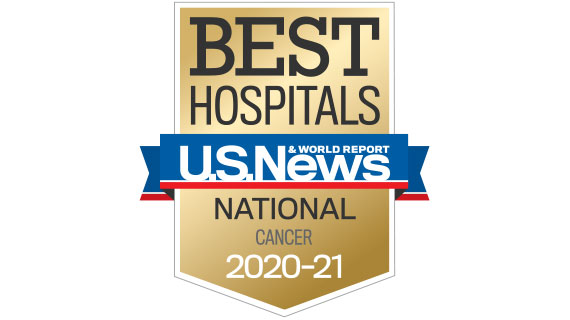 USNWR Best Hospitals Cancer 2020-2021