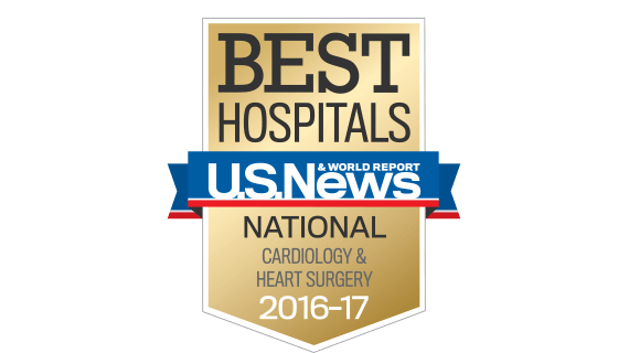 Northwestern Medicine Best Hospitals National Cardiology & Heart Surger 2016 - 2017