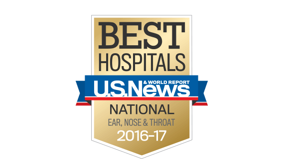 Northwestern Medicine Best Hospitals National Ear, Nose & Throat 2016 - 2017