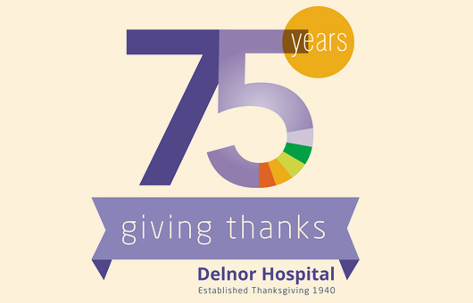 Delnor Hospital - 75 Years - Giving Thanks