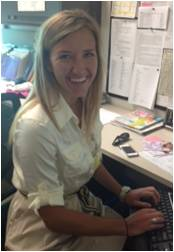 Lauren Wysock an intern at Northwestern Medicine