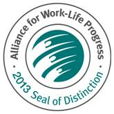 AWLP Work-Life 2013 Seal of Distinction