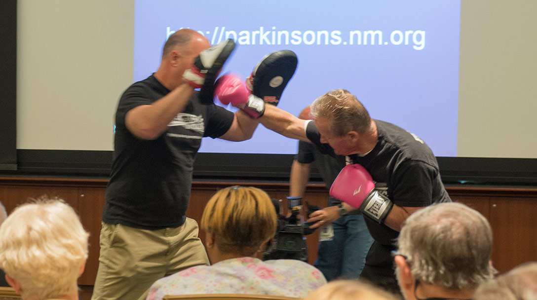 Parkinsons Patients Fight Back