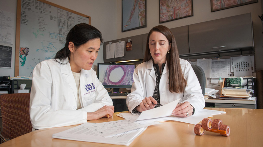 Dr. Karen Ho and Dr. Melina Kibbe investigate a potentially breakthrough treatment