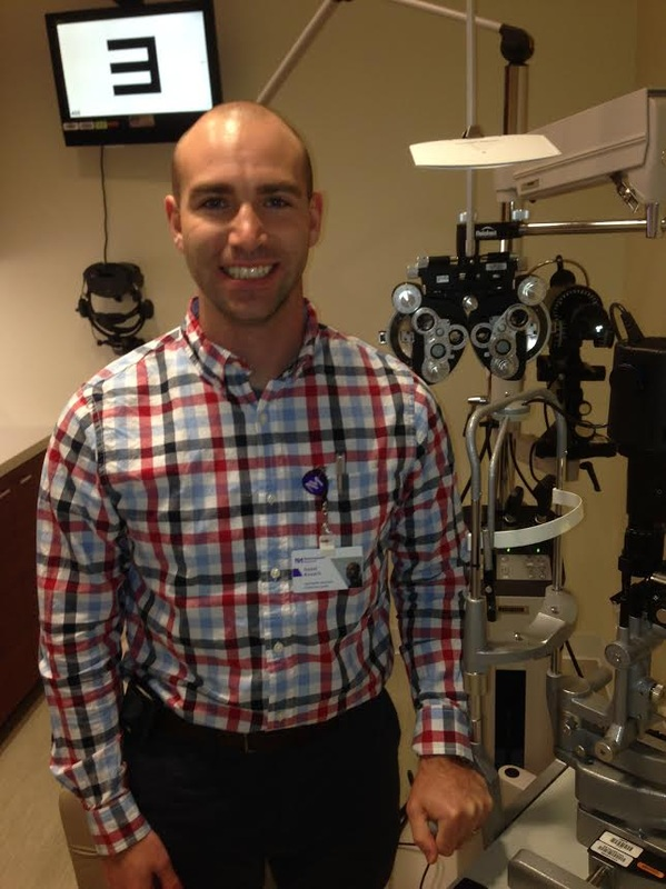 Ophthalmic assistant David Kovach