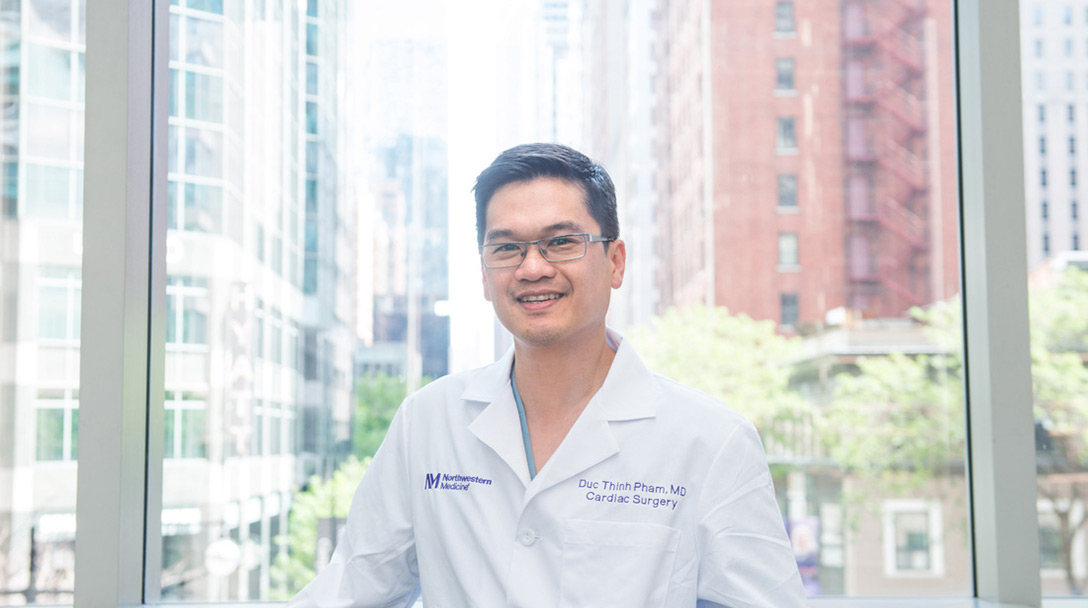 Dr. Duc Thinh Pham Surgical Director of the Center for Heart Failure