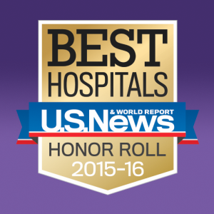 Northwestern Medicine Best Hospitals U.S. News Award