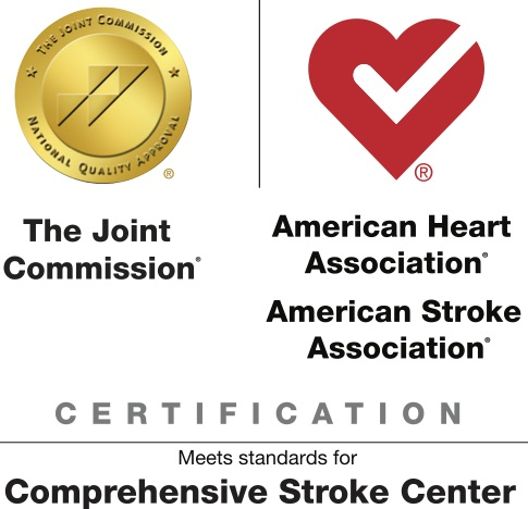 Joint Commission and American Heart and Stroke Association logos side-by-side