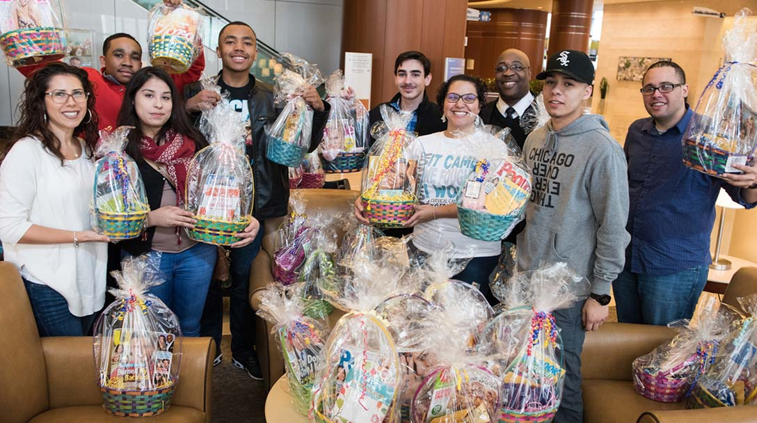 Easter Baskets for Cancer Patients
