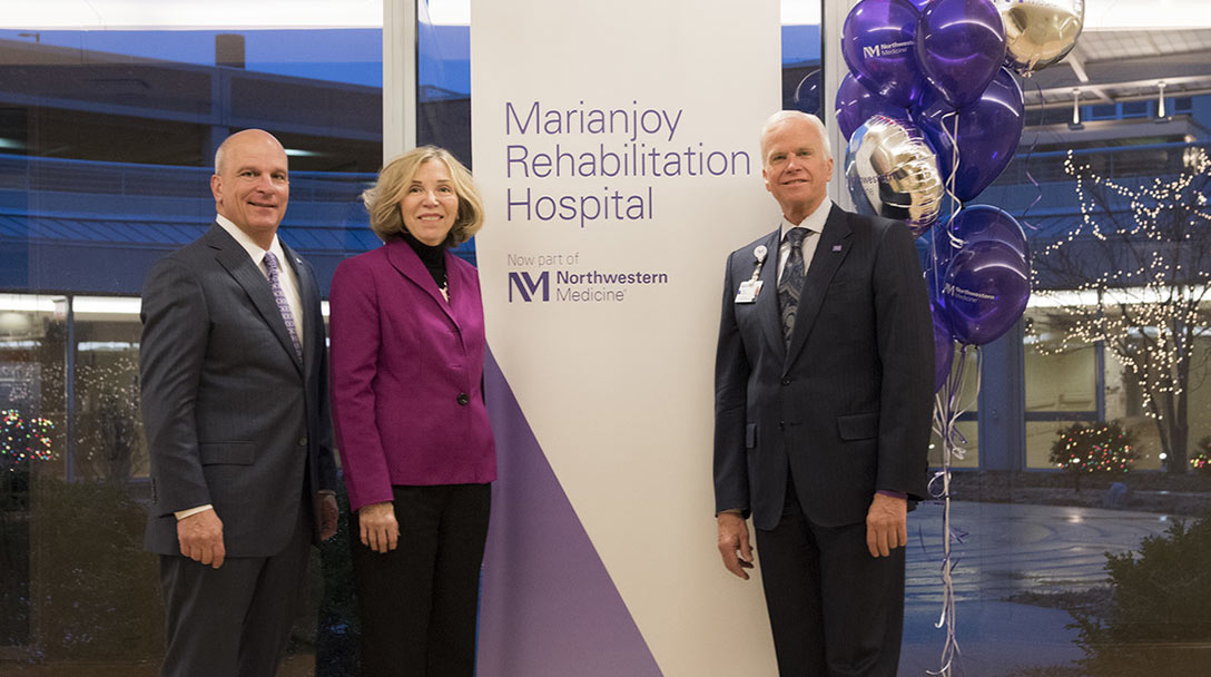 Northwestern Medicine Leaders welcome Marianjoy Rehabilitation Hospital as their newest member