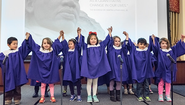 Early Childhood Education Center Childrens Choir