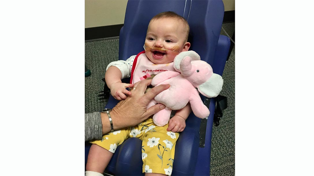 Paige Robertson spent nearly seven months in the NICU.