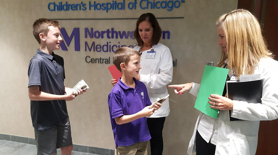 Batavia Boys Forgo Birthday Gifts in Favor of Hospital Donation
