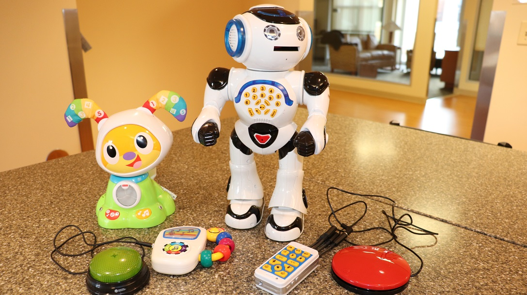 Toys adapted for children with physical challenges