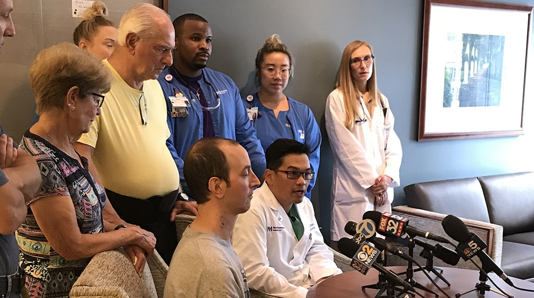 Chicagoan receives heart transplant on his 45th birthday
