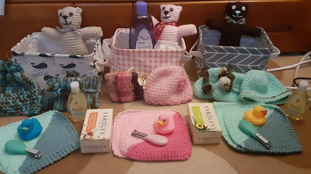 16-Year-Old with Cancer Crochets Gift Baskets for NICU Babies as She Undergoes Chemo