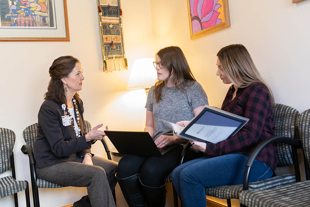 Northwestern Medicine Central DuPage Hospital offers a Young Adult Mental Health Track