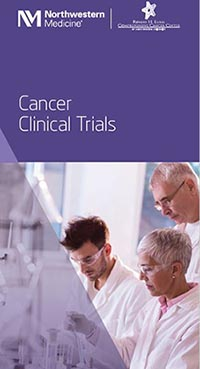 Northwestern Medicine Robert H. Lurie Comprehensive Cancer Center Clinical Trials Brochure for Referring Physicians.