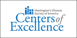 Huntington's Disease Soceity of America Centers of Excellence logo