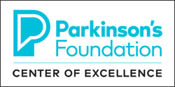 Parkinson's Foundation Center of Excellence logo