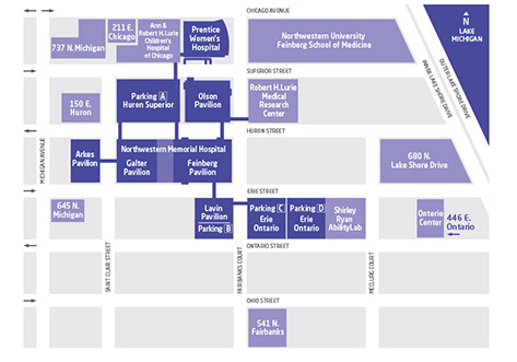 northwestern-medicine-parking-map-nmh
