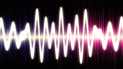 Sound wave graphic