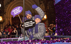 Northwestern Medicine 2017 Magnificent Mile Transplant Float Brain Thomas and Son