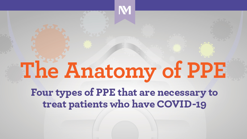 The Anatomy of PPE. Five PPE items that are necessary to treat patients who have COVID-19.