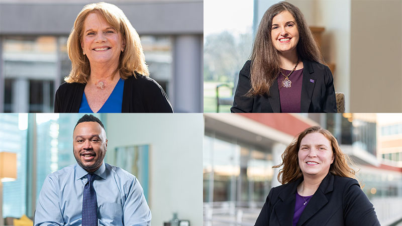 Four Northwestern Medicine employees, who all have disabilities.